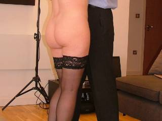 Another pic of a fantastic meet a couple of years ago. Would you let me undress you like this?