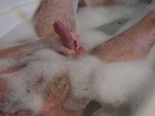 """Is it still considered a """"relaxing"""" bubble bath when you're masturbating? ;)"""