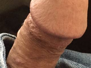 A friend just sent a message saying what she would like to do with my cock. Do you think this photo shows how happy my cock was to hear from her:-)