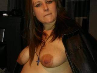 Pregnant and getting naked for a horny man