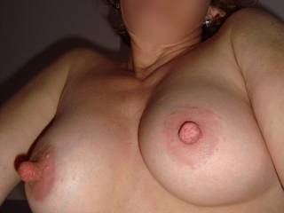 I'd love to meet the girls! You have the most amazing tits on all of zoig! You make me blow the biggest loads! May I give you a few? I'd love to cover your gorgeous tits and huge nipples and watch you lick it fromyour nips!