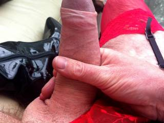 Pantied cock. It does what it says on the tin :) x
