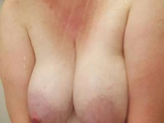 Big milk filled heavy hanging tits