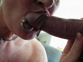 sucking hubbys yummy cock