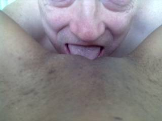 One of my good friends.  She enjoys me shaving her pussy then licking her out