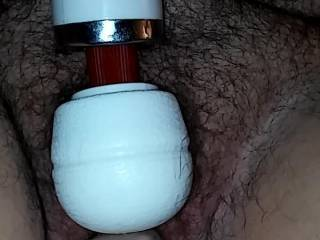 She loves to be fucked by a huge dick. This is her Blaze dildo filling her up