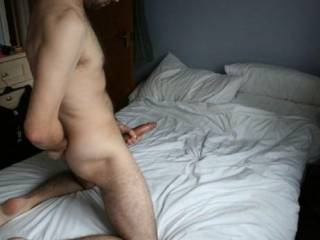 Shemale jerking off bisexual