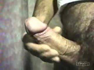 Way to jerk off that thick hairy cock stud, I was jacking off the whole time, stretch my lips with that rod anytime!