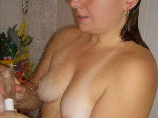 Some slightly older shots of me taking a shower... Anyone want to help me get clean after you get me dirty?