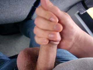 Was really horny on the bus to school watching girls with very little clothes in the seats in front of me.... I just had to get my dick out and make it cum hard on the bus seat