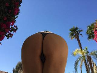 Not your typical ass shot....where the sun don't shine....wanna kiss mine?? 