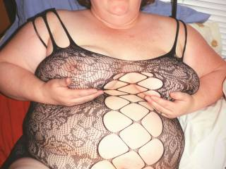 What a wonderful catch in my new fishnet... More than a handful. ENJOY