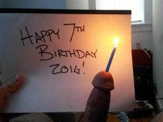 Happy 7th birthday zoig!!! Lil bit of urethral play with a candle! ;)