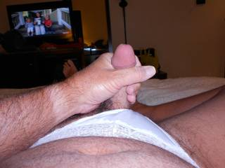 I love white panties