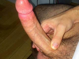 Very nice big thick suckable cock. Love to feel that big head pushing into my throat as your hot cum hits the back of my throat