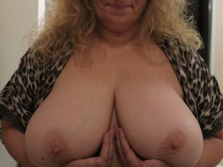 Can anyone help me lift up these big overgrown boobs?