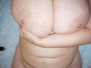 Wifes big boobs..