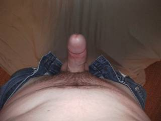 My third dare for him..... Wanted to see him gripping his cock and balls.... I'm out of ideas on dares for him, please help!
