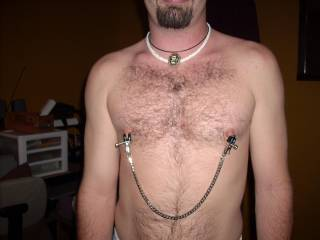 Testing the nipple clamps before Use! ;)