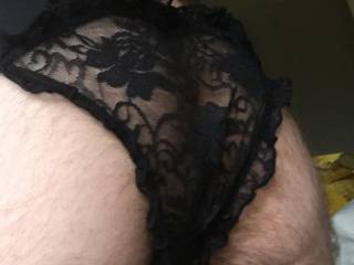 I love to share my pics with Zoigers. Do you prefer me in wifes panties or not? x K x