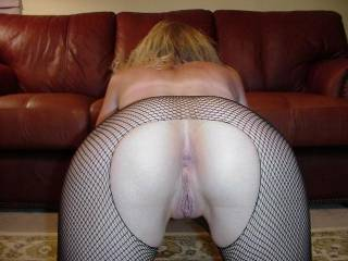 Magnificent perfect ass!!  I so want to lick and tease her pussy and rim that beautiful dark hole luv getting her so wet...then sliding my throbbing cock in that tight ass, spanking those cheeks..