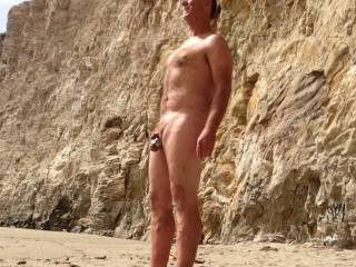 I went to this nude Beach wow what a great way to relax.