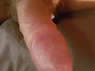 Amazing how this sexy cock of Mr. IKPM's makes me scream, in a beautiful way!  That cock needs to be licked clean, who would like a taste?  I'll save you some.