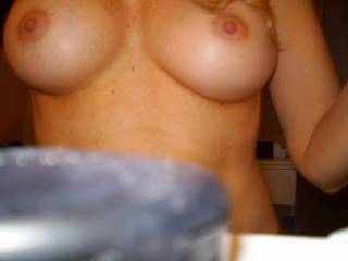 what fantastic tits she has... just perfect.