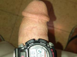 my dick knows the time