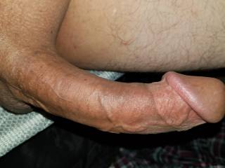 I like to lay back and let you ride my big fucking dick.