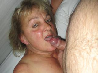 Sucking before swallowing