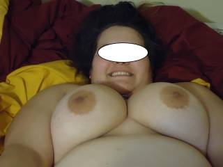 getting ready for titty fuck