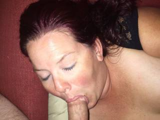 She is great at sucking cock