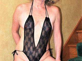 Draga in a black see-through lingerie!! Modeling agency says this is the best pic of me -- make me look like a slut! Do you agree?  Am I a slut?