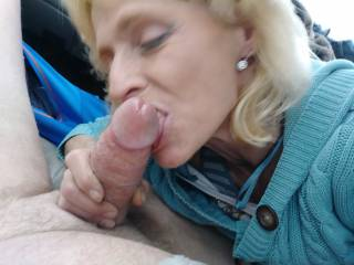 You like my kisses she asked my cock