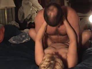 Acloseup of us fucking with nice tit action and a great cumshot on her with great sounds