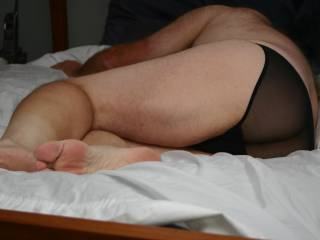 I hope you wouldn't be mad if I couldn't keep my hands off your panties and ass ?
