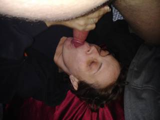 I love filling her mouth