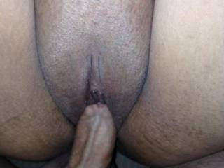 A quick pussy fuck before going in her ass.  Tell us what you think?