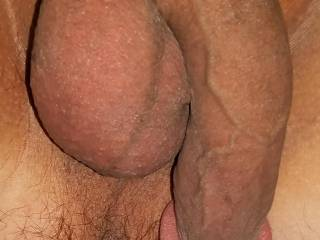 Soft cock and hairy ass