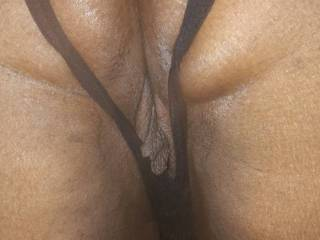 Pussy lips hanging
