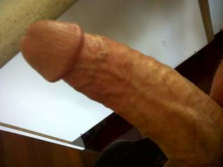 Just a photo of my cock for a friend