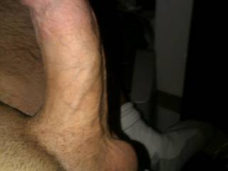 My hubby's thick cock, ladies!