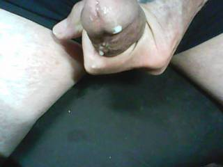 A little cum during zoig chat