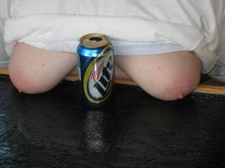 Belly up to the bar, its titties and beer for everyone.