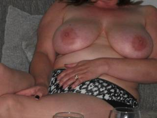 nice breast shot if you like them